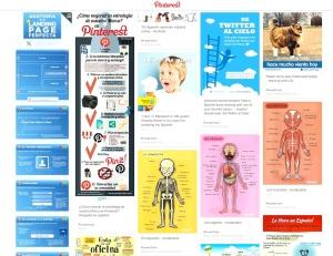 Screenshot Pinterest Board