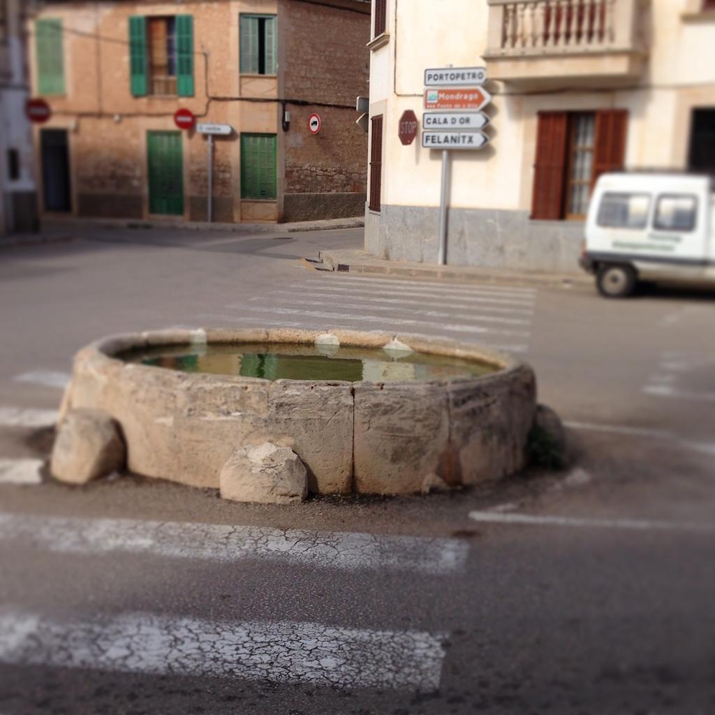 Mallorca Santanyi Eselsbrunnen