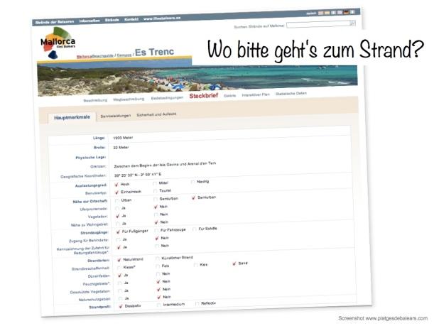 Mallorca Online Strandführer
