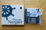 Netscape Navigator 3.0 auf Disketten