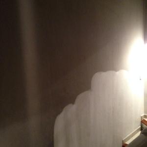 Rußentfernung Wand