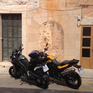 Unsere Motorräder in Santanyí