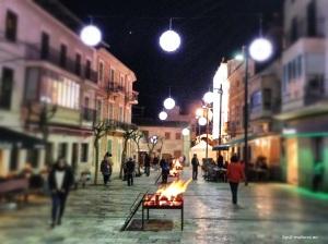 Grillfeuer Sant Antoni
