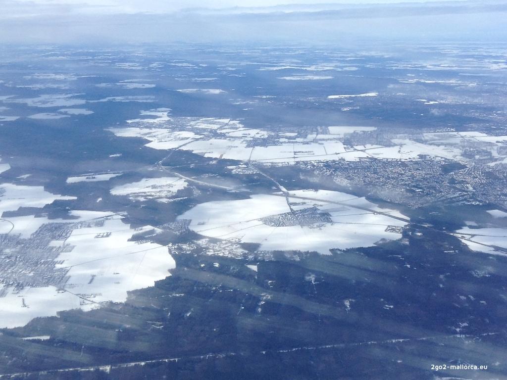 Schnee Bayern