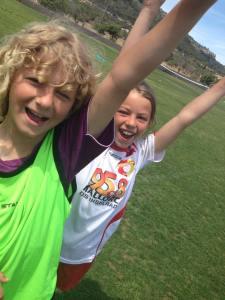 Kids im Fussballcamp