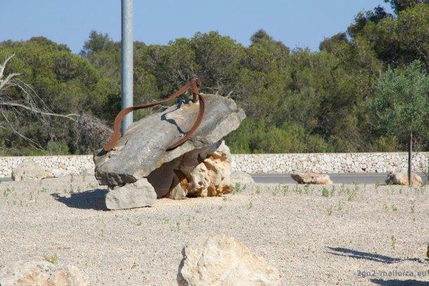 Flipflop Sandale aus Stein