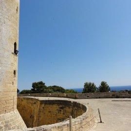 Meer im Blick vom Castell de Bellver