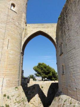 Castell de Bellver Brücke