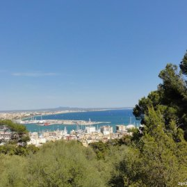 Castell de Bellver Palma Hafen