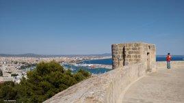 Castell de Bellver Rundumsicht