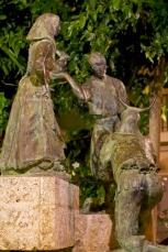 Skulptur Santa Catalina