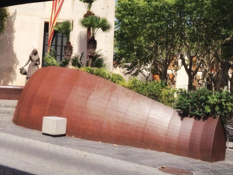 Catalina und der zerbrochene Krug in Santa Margalida