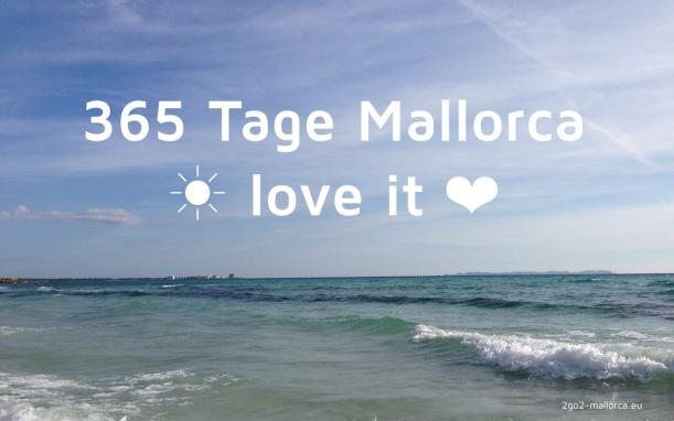 Mallorca - I love it