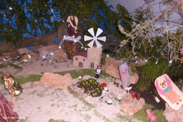 Krippe Santanyí 2014 betlem