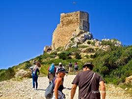 Castillo de Cabrera - die Burg von Cabrera