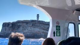 Leuchtturm des Cabrera Archipels