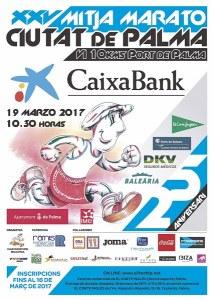 Plakat Halbmarathon Cituat de Palma 2017
