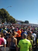 900 StarterInnen wollen los - Die Sonne scheint dazu - Halbmarathon in Palma 2017