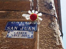 Künstlergasse Carrer Sant Joan