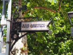 Sóller Modernisme: Placa Constitució