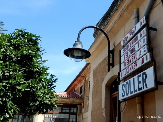 Sóller Bahnhof