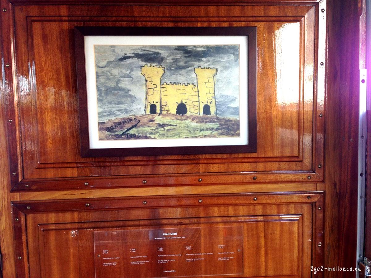 Zug Sóller Kunst: Miró