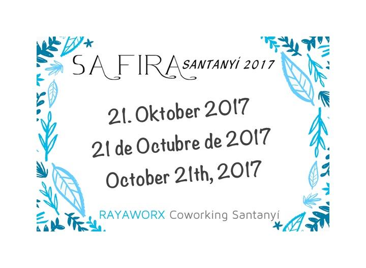 Sa Fira Santanyi 2017 Rayaworx