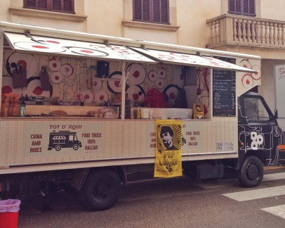 Food Truck Sa Fira Santanyi