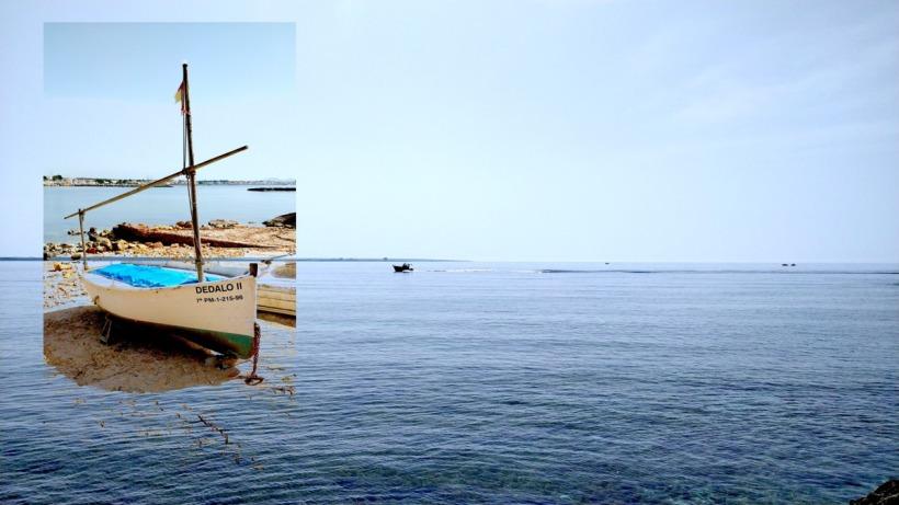 Llaut Mallorca Boot Meerblick