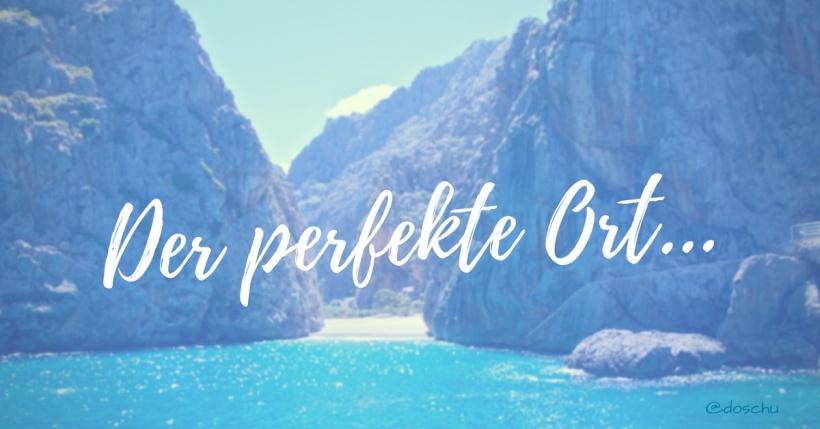 Der perfekte Ort Blogillustration Mallorca DoSchu