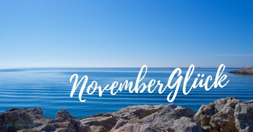 November Glück Mallorca Meerblick