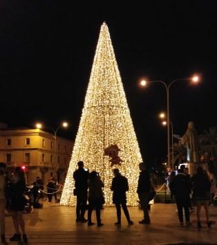 Llums de Nadal am Monument Ramon Llull