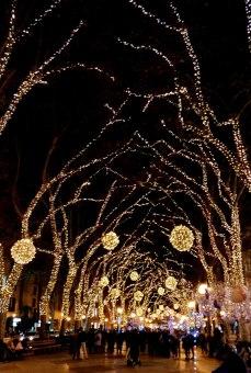 Llums de Nadal am Passeig des Born, Palma