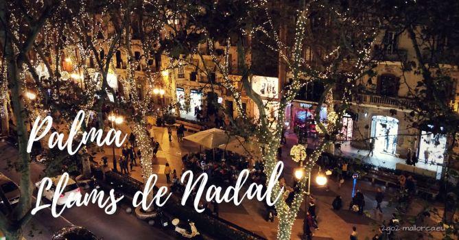 Weihnachtsbeleuchtung Palma de Mallorca