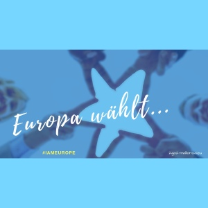 I AM EUROPE Illustration Europawahlen 2019