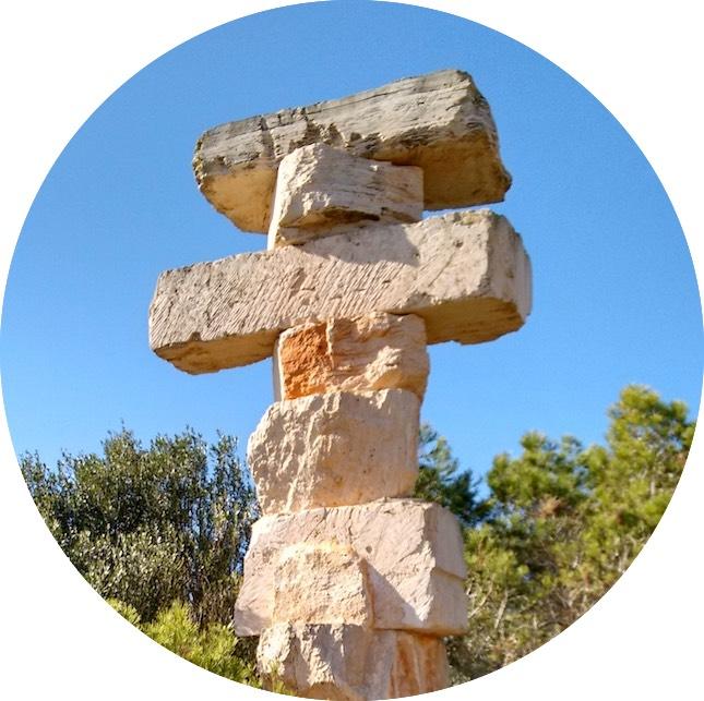Equilibrio by Rolf Schaffner • Satnanyi, Mallorca
