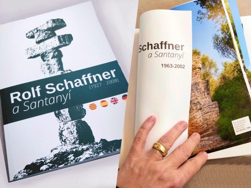 Buch Rolf Schaffner Santanyi