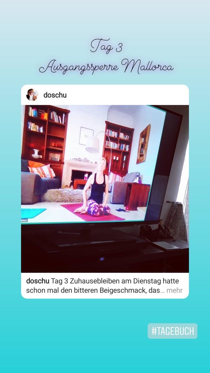 Tag 3 :: Online Yoga