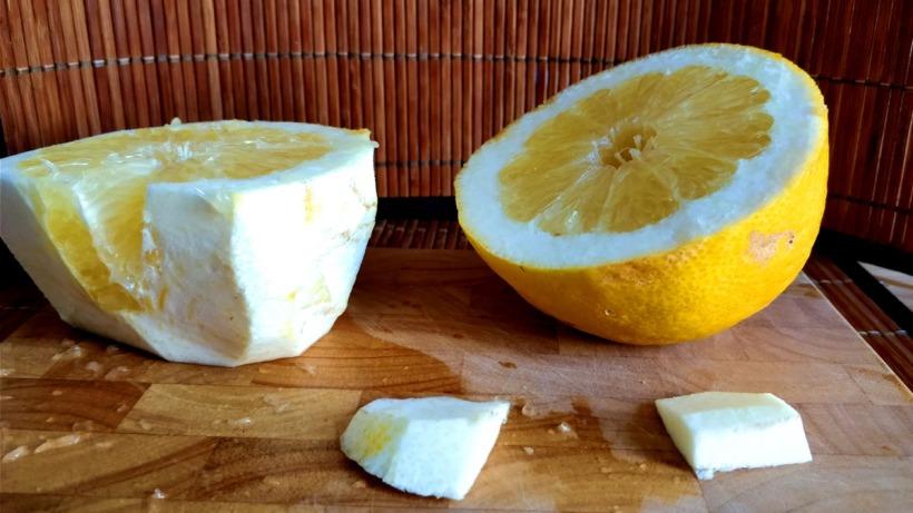 besonders grosse Zitronen