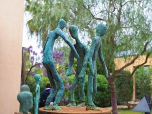 Skulpturengruppe Rudi Neuland