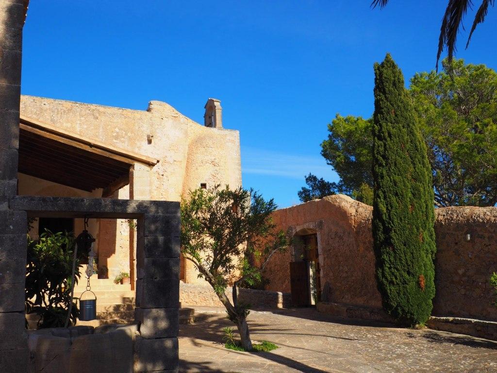 Innenhof Santuari de la Consolación