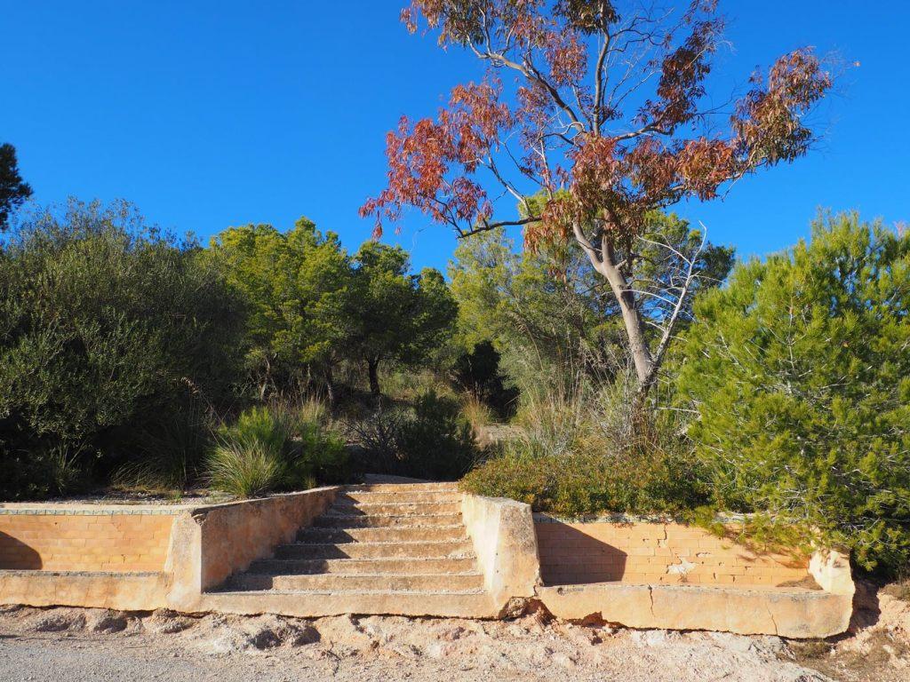 Stufen zum Santuari de la Consolación